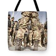 Afghan Air Force Members Get Briefed Tote Bag