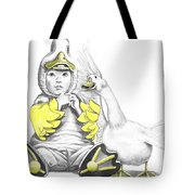 Aflac Baby Duck Tote Bag