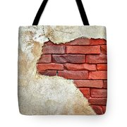 Africa In Bricks Tote Bag