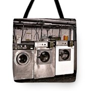 After Enlightenment The Laundry. Tote Bag