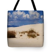 Afternoon At White Sands National Monument Tote Bag