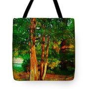 Afternoon Delight Tote Bag by Judi Bagwell