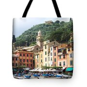 Afternoon In Portofino Tote Bag