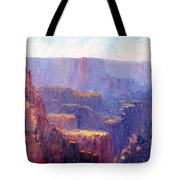 Afternoon In The Canyon Tote Bag