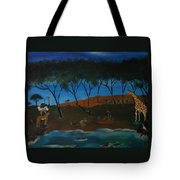 Afternoon In The Serengeti Tote Bag