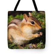 Afternoon Snack - Eastern Chipmunk  Tote Bag