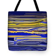 Afternoon Stretch Tote Bag
