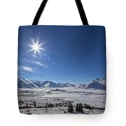 Afternoon Sun Along The Dempster Tote Bag