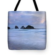 Against The Tides Tote Bag