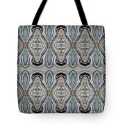 Agate-38e Border Tiled Tote Bag