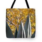 Agave Spikes In Autumn Tote Bag