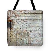Aged Brick Wall With Character Tote Bag