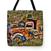 Aging Truck Tote Bag