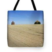Agricultural Landscape. Limagne. France Tote Bag