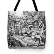 Agriculture: Spring, C1555 Tote Bag