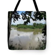Agusan River Near Ja Pao Tote Bag