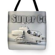 Ah-1 Super Cobra Tote Bag