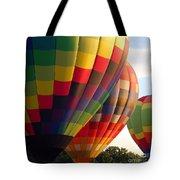 Air Balloon Last Call Tote Bag
