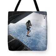 Air Force Pararescueman Jumps Tote Bag