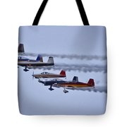 Air Show Flyover Tote Bag
