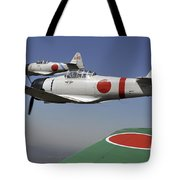 Aircraft From The Tora, Tora, Tora Tote Bag