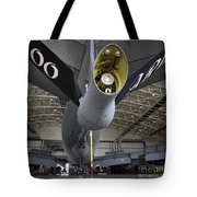 Airman Hand-washes The Centerline Tote Bag