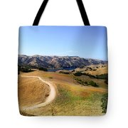 Airplane Hill Tote Bag