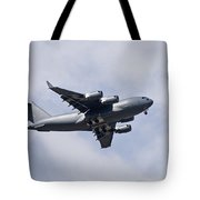 Airplane In The Sky Tote Bag