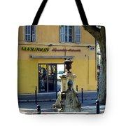 Aix En Provence Fountain Tote Bag