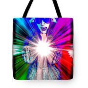 Ajay In Abstract Tote Bag