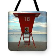 Ala Moana Lifeguard Station Tote Bag