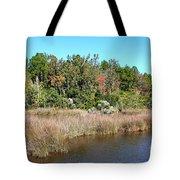 Alabama Bayou In Autumn Tote Bag
