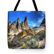 Alabama Hills Granite Fingers Tote Bag by Bob Christopher