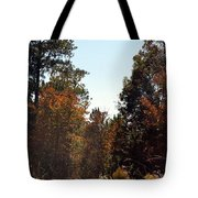Alabama Mountainside October 2012 Tote Bag