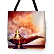 Aladdin Lamp Tote Bag