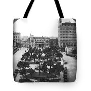 Alamo Plaza In San Antonio Tote Bag