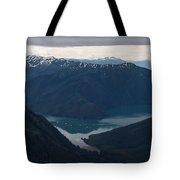 Alaska Coastal Serenity Tote Bag