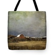 Alberta Farm Land Tote Bag