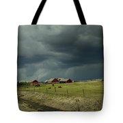 Alberta Stormy Weather Tote Bag