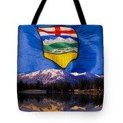 Albertas Rocky Mountains Tote Bag