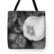 Albino Bullnose Pepper Bw Tote Bag