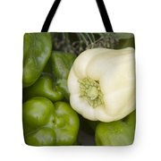 Albino Bullnose Pepper Tote Bag