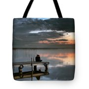 Albufera. Couple. Valencia. Spain Tote Bag
