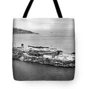 Alcatraz Island And Prison Tote Bag