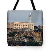 Alcatraz Island Lighthouse - San Francisco California  Tote Bag