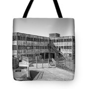 Alcatraz Model Industries Building Tote Bag