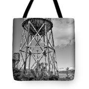 Alcatraz Penitentiary Water Tower Tote Bag