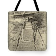 Alcatraz Two-way Work Staircase Tote Bag