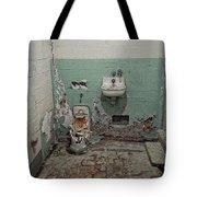 Alcatraz Vandalized Cell Tote Bag