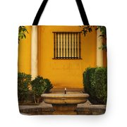 Alcazar Fountain In Spain Tote Bag